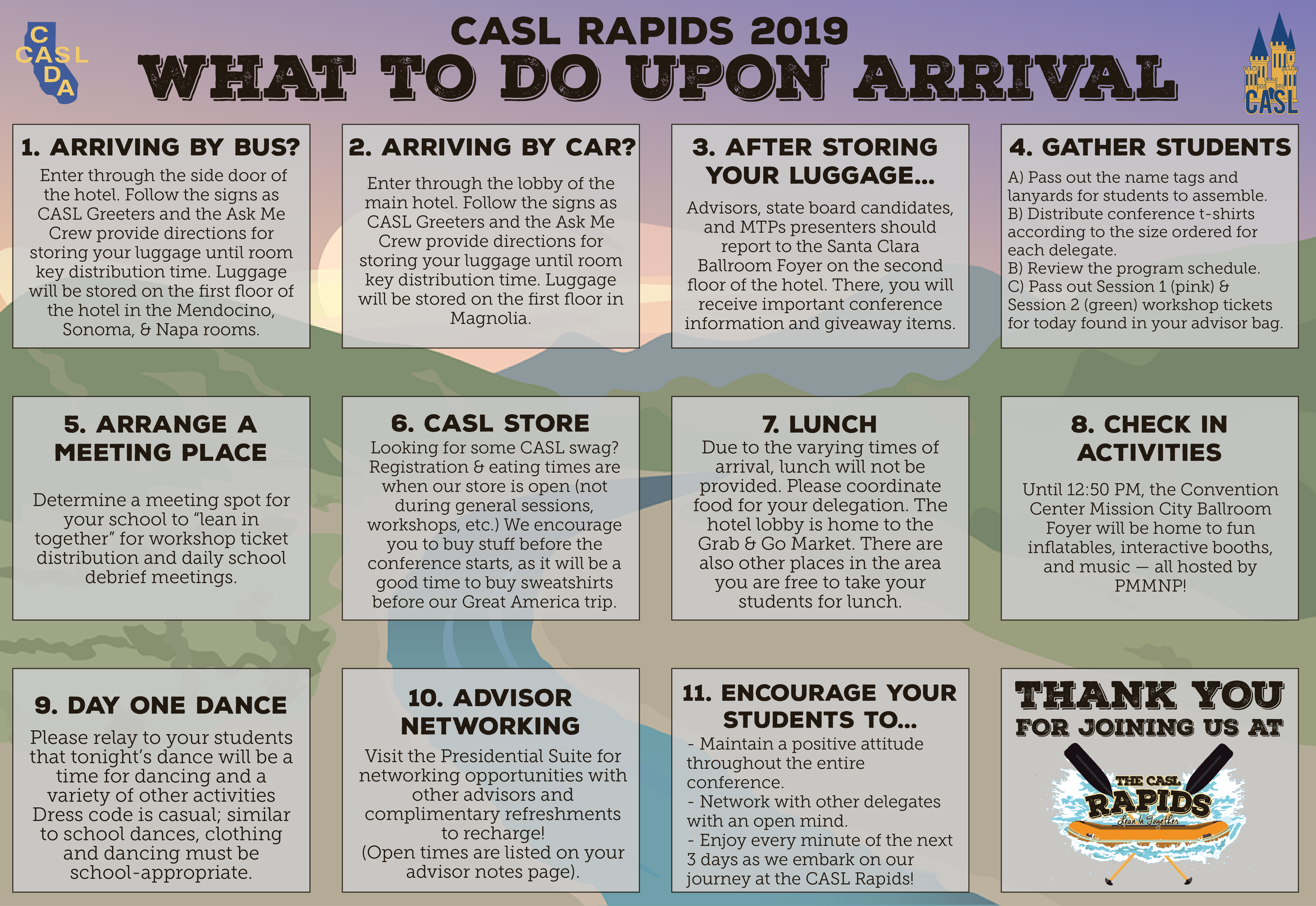 CASL State Conference (Students) - CADA